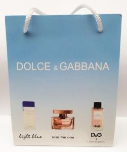 """Набор подарочный """"Dolce&Gabbana"""" 3 по 15 мл"""