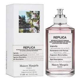 Replica maison margiela springtime in a park