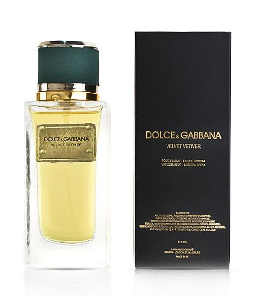 Dolce and Gabbana Velvet Vetiver