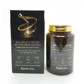 Farm stay 24k gold solution perfect ampoule