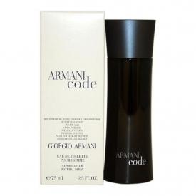Giorgio Armani Black Code for Men tester