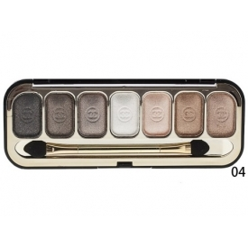 Тени Chanel 7 colors с блеском
