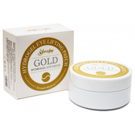 Hydrogel eye lifting patch gold