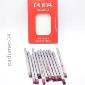 Pupa milano eyeliner lipliner pencil