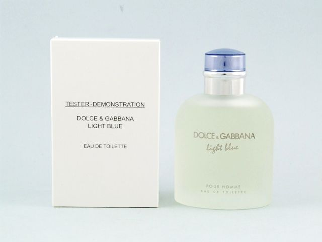 Dolce and Gabbana Light Blue Men tester