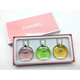 Набор Chanel из 3 ароматов по 25 мл.
