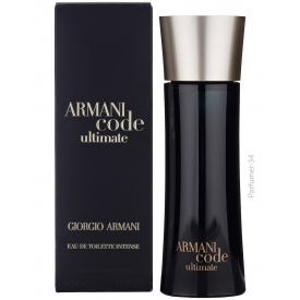 Armani code ultimate intense