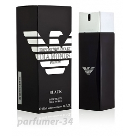 Emporio armani diamonds for men black