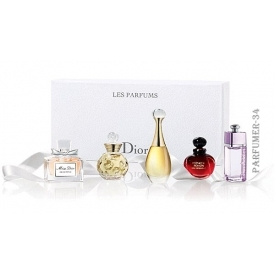 Dior les parfums набор из 5 миниатюр