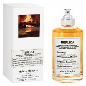 Replica maison margiela by the fireplace