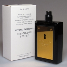 Antonio banderas golden secret тестер