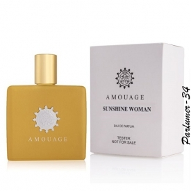 Amouage sunshine woman tester
