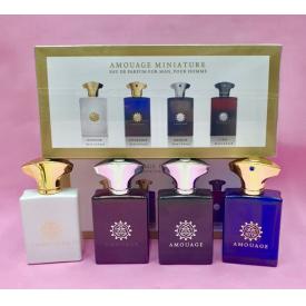 Подарочный набор amouage miniature 4 в 1