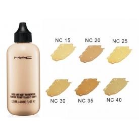 Тональный крем mac face and body foundation 120 мл