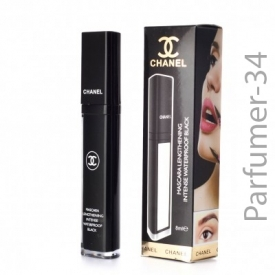Тушь chanel mascara lengthening intense waterproof black