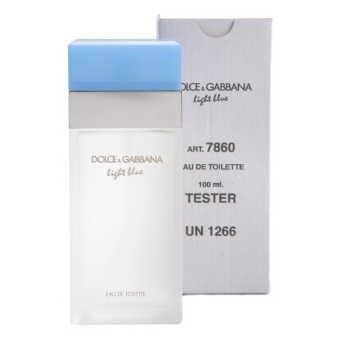Dolce and Gabbana Light Blue Women tester