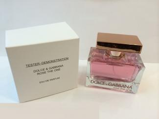 Dolce and Gabbana Rose The One tester