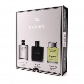 Подарочный набор мужской Chanel 3 по 20 мл