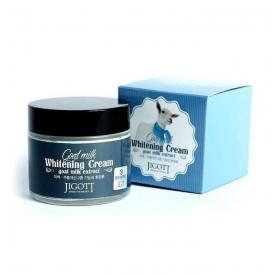 Jigott Goat Milk Whitening Cream Крем для лица с экстрактом козьего молока