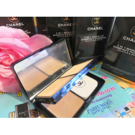 Chanel 3 in 1 make-up compact powder