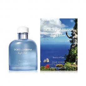 Dolce gabbana light blue pour homme beauty of capri