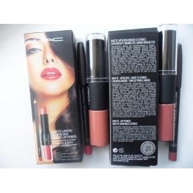 Mac matte lipstick lipgloss matte lip pencil