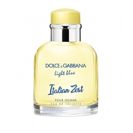 Dolce gabbana light blue italian zest pour homme тестер