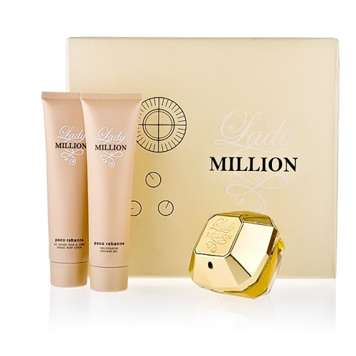 "Набор 3 в 1, Paco Rabanne ""Lady Million"""