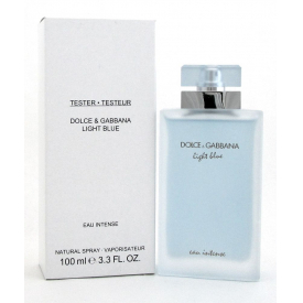 Dolce gabbana light blue eau intense тестер