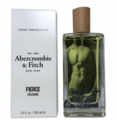 Abercrombie fitch fierce cologne tester