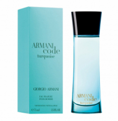 Armani code turquoise